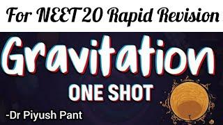 Gravitation One Shot Revision_neet 2020