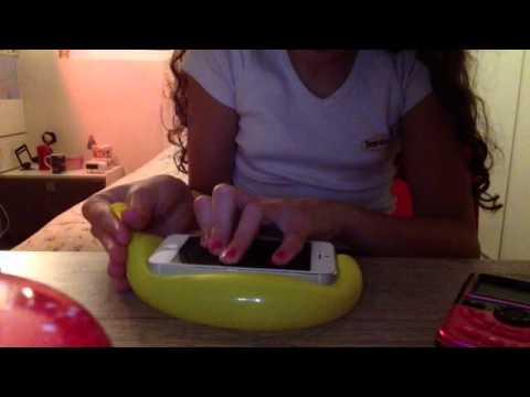 Como fazer uma capinha para celular com uma bexiga
