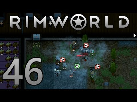 RimWorld - Part 46 - TRADER SHOWDOWN