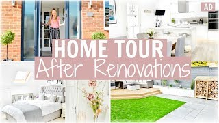 AD HOUSE TOUR AFTER RENOVATIONS | BEFORE & AFTER HAVING WORK DONE | Alex Gladwin