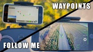 Xiro Xplorer V #09 - Follow Me & Waypoints(Denkt daran den Film in HD QUALITÄT zu schauen. Falls er euch gefällt: Kommentieren, Daumen HOCH, teilen und ABONNIEREN! Danke!, 2016-01-26T13:00:30.000Z)