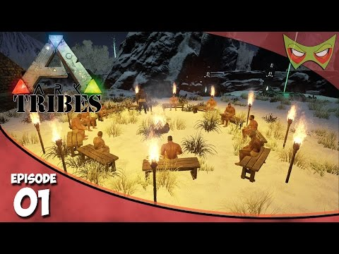 Ark: Tribes - Ep 01 - The Ceremony! - Let's Play On Pooping Evolved