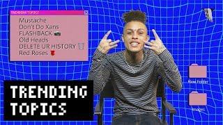 """Lil Skies on Old Heads, Drugs, and """"Red Roses"""" 