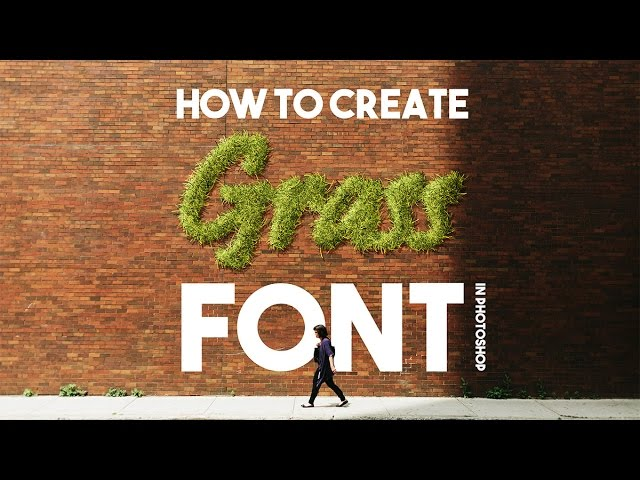 The Power of Grass Brush in Photoshop