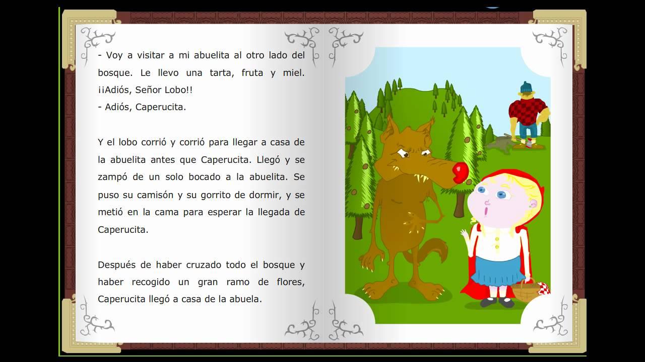 Aquí los 37 libros en español para niños gratis (para descargar o leer online). Caperucita roja, Cuentos clásicos infantiles en español