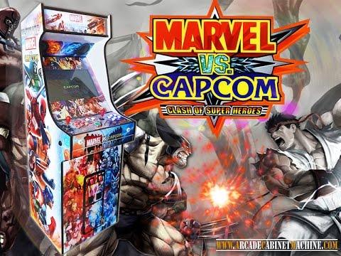 capcom vs marvel arcade machine