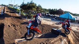 Rider Reactions of the New Track - Red Bull Straight Rhythm 2015