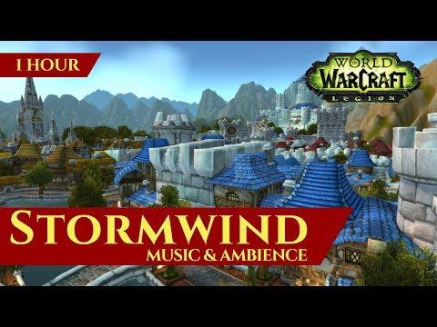 Stormwind - Music & Ambience (1 hour, 4K, World of Warcraft Legion 7.3.5)