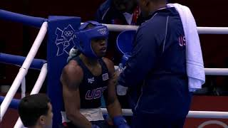 Errol Spence Jr's Olympic Bouts