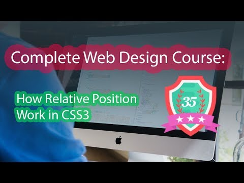 035 - How Relative Position Work In CSS3