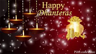 Dhanteras Best wishes Happy Dhanteras Video Greetings