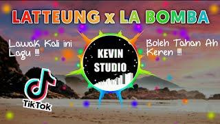 DJ LATTEUNG x LA BOMBA TIK TOK OFFICIAL LYRICS REMIX BATAK (KEVIN STUDIO)