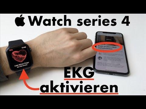 Apple Watch 4: EKG Funktion in Deutschland aktivieren - so gehts!