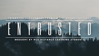 Entrusted: The Goal of Our Instruction   Cory Waddell