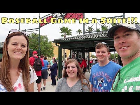 ESPN Wide World Of Sports Baseball Game In A Suite!!! - Walt Disney World 2019