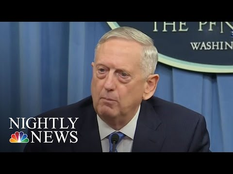 Sec. James Mattis, White House Downplay Confusion Over Aircraft Carrier | NBC Nightly News