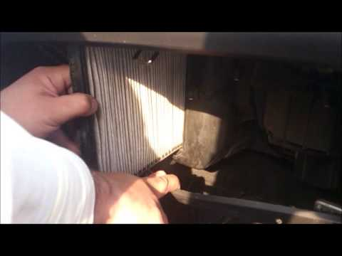 Interfil Cambio De Filtro De Cabina Chevrolet Aveo Youtube