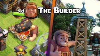 CLASH OF CLANS | GIANT'S SURPRISE | Giant As Builder | BUILDER Builds Real Life TESLA & P.E.K.K.A? |