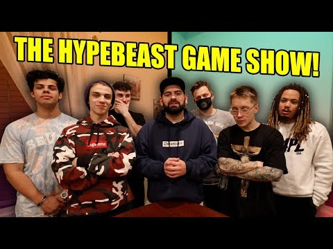 MUST SEE HYPEBEAST GAME SHOW!! (3 on 3 TRIVIA GAME)