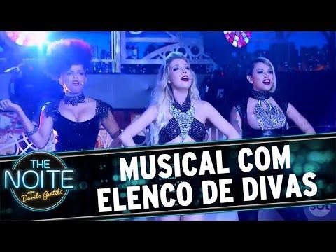 The Noite (21/10/16) - Musical com Elenco de Divas - Nikki, Jeniffer Nascimento e Luiza Possi