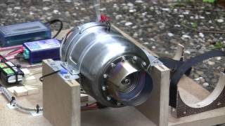 Test-1 meiner eigenbau Turbine