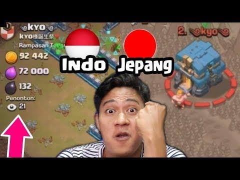 HANCURKAN Base Jepang Pake Komat Kamit Dulu ATTACK WAR TH 12 COC INDONESIA