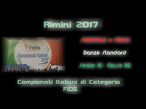 Campionati FIDS 2017 - Semifinale e Finale Standard Senior III Classe