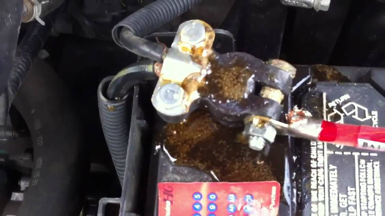 Permalink to How To Get Rid Of Corrosion On Car Battery