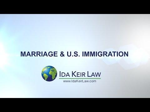 Marriage & U S Immigration