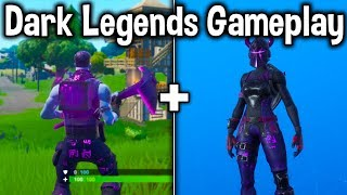 "NEW ""DARK REFLECTIONS"" PACK GAMEPLAY in FORTNITE! (Should You Buy These Skins)"