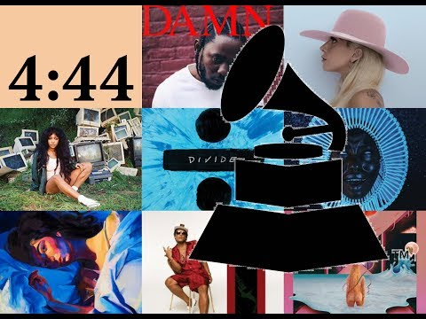 Grammy 2018 Nominees and winners