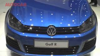 Frankfurt Motor Show - Vw Golf R By Autocar.Co.Uk