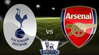 Tottenham Hotspur v Arsenal 2 - 1 Highlights HD - 07/02/2015