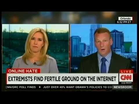 David Gletty Conducts Interview with CNN Newsroom Poppy Harlow