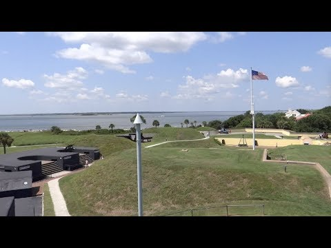 Sullivan's Island, South Carolina - Fort Moultrie HD (2017)
