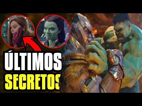 REVELAN MÁS secretos de Infinity War, preguntas y más conexiones Avengers 4