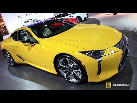 2019 Lexus LC500 - Exterior and Interior Walkaround - 2019 NY Auto Show