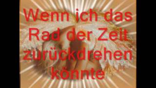 R Kelly - If I could turn back the hands of time (German Lyrics)