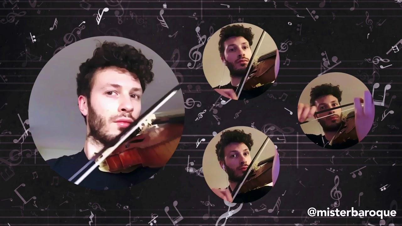 """Antonio Vivaldi - """"Largo e spiccato"""" from Concerto XI in D minor RV 565 (L'estro armonico Op.3)"""