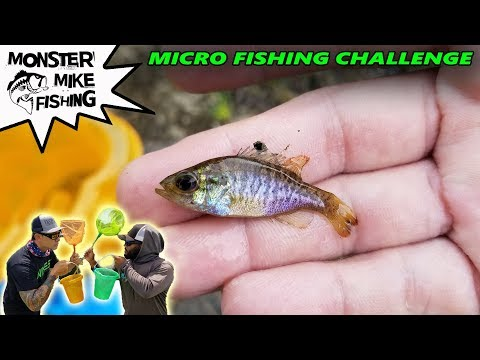 Net Fishing Challenge   Monster Mike Vs BryanTheCEO