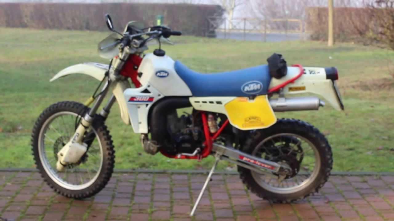 1986 KTM 300 GS Enduro Sport - Moto.ZombDrive.COM