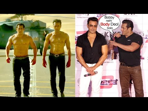 Salman Khan BEST Reply On Bobby Deol's Unbelievable SHOCKING Body Transformation