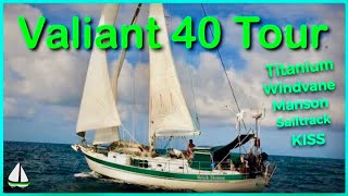 Bluewater Sailboat Tour - Valiant 40 #1 {Titanium chain plate,Manson Supreme, Monitor Windvane} #30