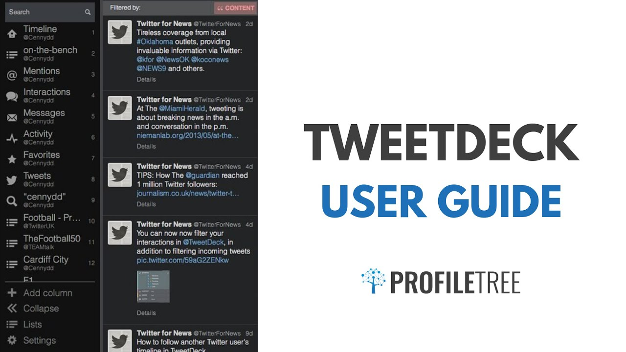 TweetDeck User Guide - Unlock the Full Potential of TweetDeck