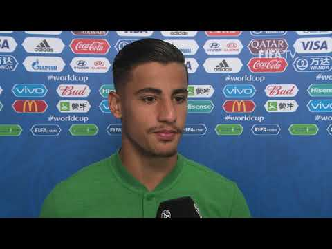 Daniel ARZANI (Australia)  - Post Match Interview - MATCH 22