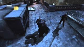 Batman: Arkham City - Open World Gameplay [HD]
