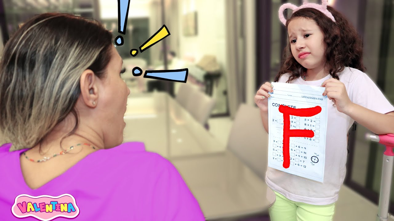 Valentina Pontes Eu falhei na escola !! شفا رسبت في المدرسة !!