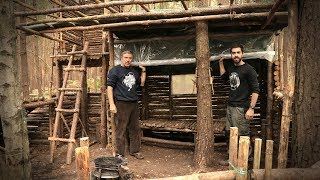 Bushcraft Camp Update 16 - Thermal Shelter Upgrade (Survival)