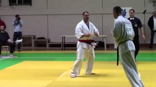 Open de France 2015 Kyokushin (IKO)  Tovmas Beburyan(CLK) vs Maxime Demeautis