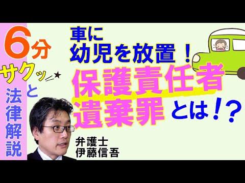 相模原の弁護士相談/保護責任者遺棄罪について - YouTube